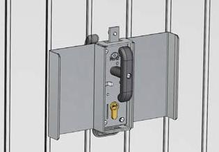Kit antieffrazione stopper originale basculanti ballan spa - Serratura porta basculante garage ...