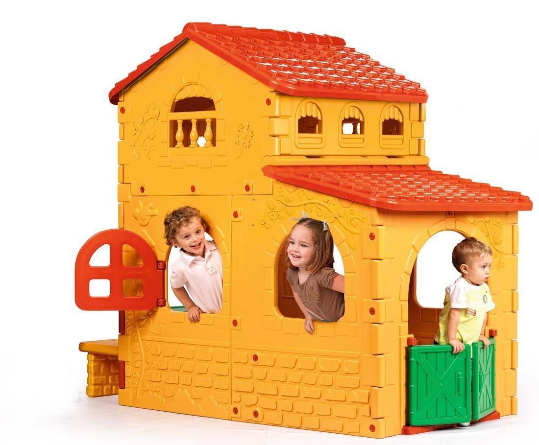 Casetta da giardino per bambini grande villa da esterno for Grande casetta per bambini