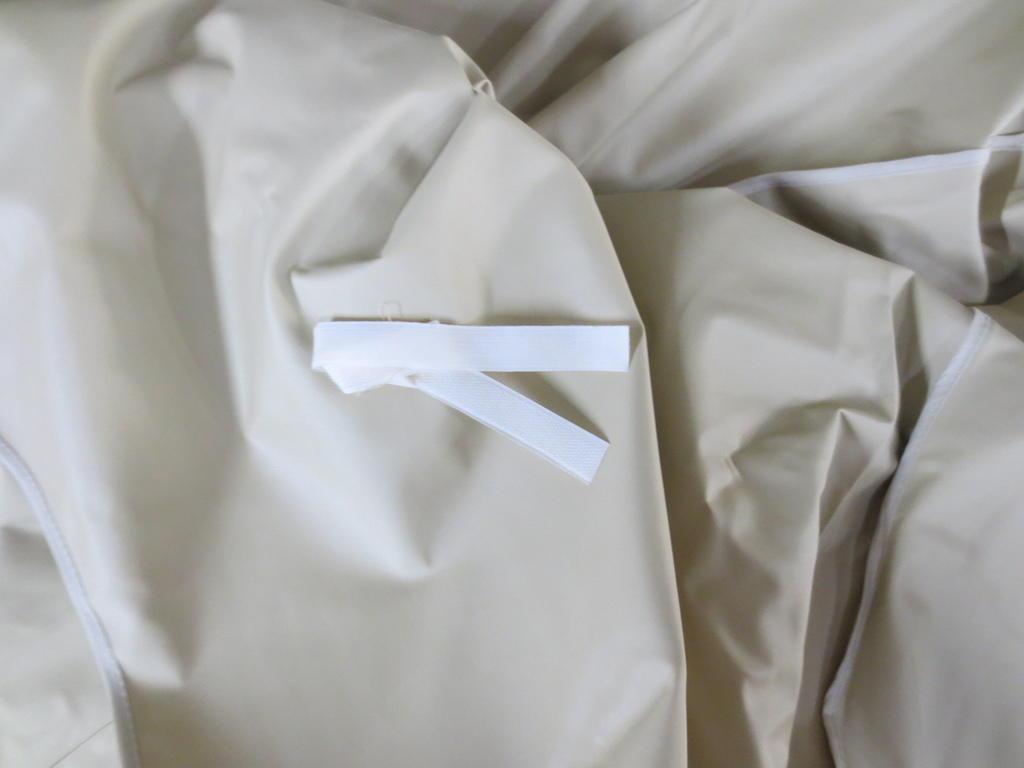 Telone pesante impermeabile beige telo di ricambio con bordo per ...