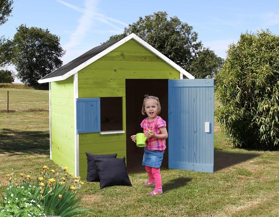 Casetta da esterno in legno ribes per bambini cod cl1387 - Casette giardino bimbi scontate ...