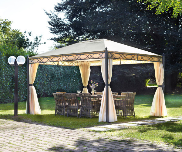 Telo gazebo 3x4 copertura superiore di ricambio for Gazebo 4x3 amazon