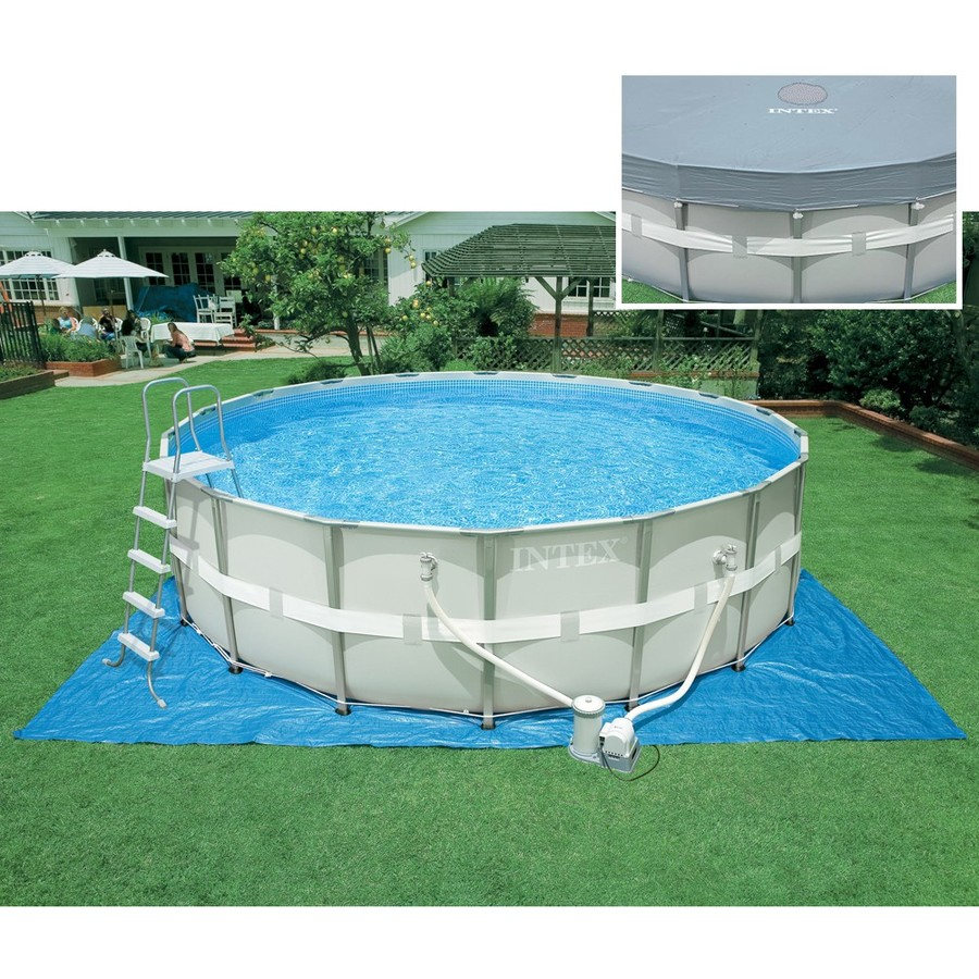 Piscina Fuori Terra Rotonda Intex 28310 Ultra Metal Frame