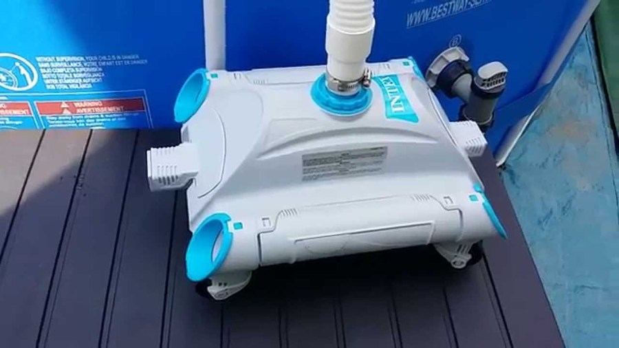Pulitore piscina robot auto pool cleaner manutenzione intex 28001 anno 2015 - Robot piscina amazon ...