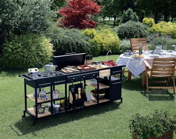 Barbecues professionale a gas BST Magnum bistecchiera