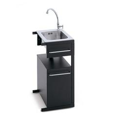 Barbecues professionale a gas BST Magnum lavello lavabo rubinetto