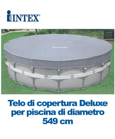 Telo di copertura deluxe per piscine ultra frame 549 intex 57900 - Telo copertura piscina intex ...