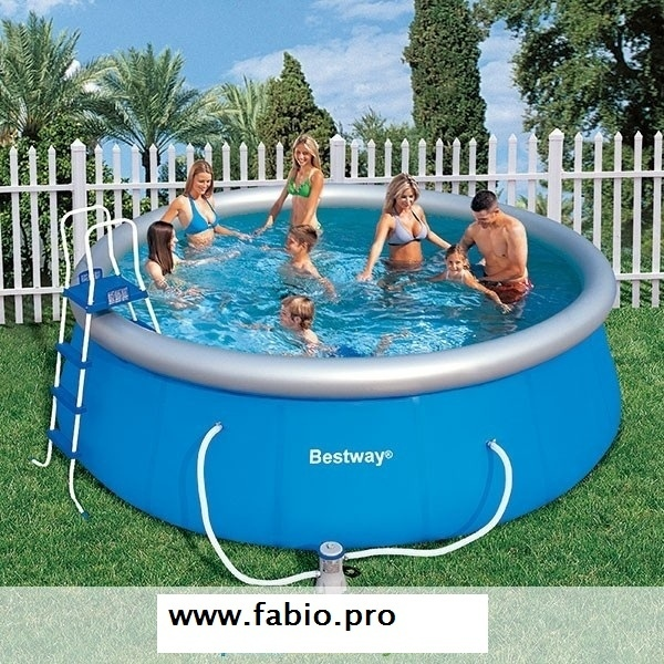 Piscina bestway autoportante 57148 fast set pool 457x 122 for Piscina autoportante