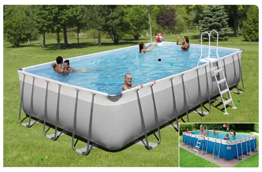 0921k piscina new plast kit prestige 450 h 132 con filtro for Piscina h 132