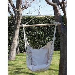 Amaca sedia a dondolo seduta in cotone amaca da giardino 55516