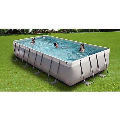 piscina fuori terra da esterno rettangolare new plast diva