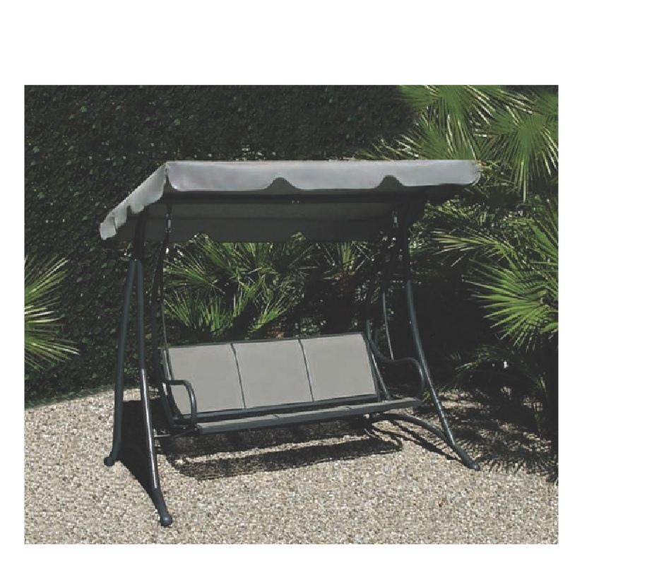 Dondolo da giardino mod sapri in metallo alluminio 3 for Montaggio dondolo