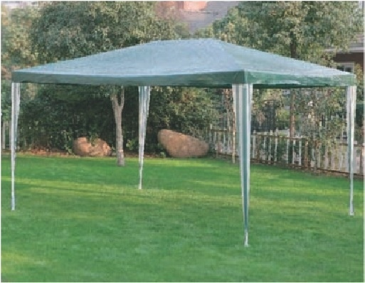 Gazebo grande in metallo mod trafal con telo di copertura for Gazebo 4x3 amazon