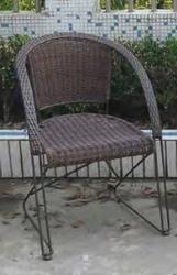 Sedia mod. Bristò in Polyrattan Marrone 94436