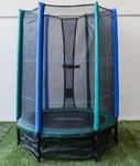 Cama Elástica Masgames SUN RESISTENT 140 cm con red de seguridad