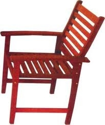 Sedia In Legno Da Giardino mod. Amalfi cm Papillon