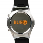 Burg 7 333  Young and Trendy Nero Orologio Cellulare