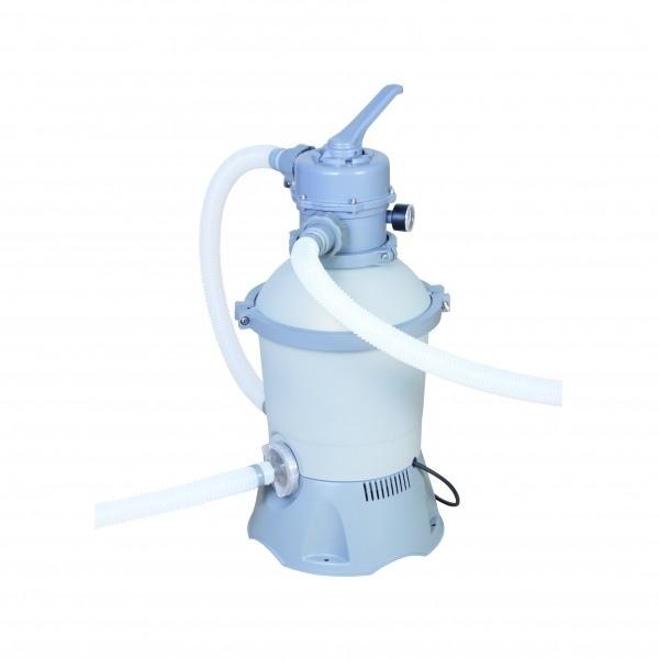 Pompa per piscine filtro a sabbia da lt h bestway 58271 for Pompa filtro laghetto solare