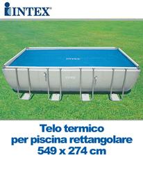 Piscina intex 28352 ultraframe rettangolare misura 549 x - Telo per piscina intex ...