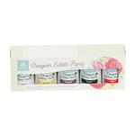 Kit coloranti per pittura alimentare  pronti all'uso ( Rosso, Nero, Erica, Giallo, Bianco)