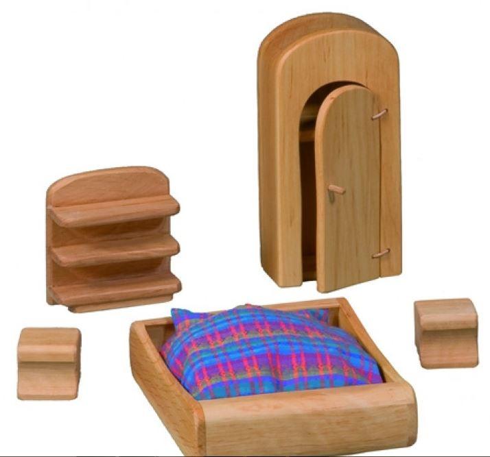Mobili kit per la casa delle bambole tonda for Mobili per la casa