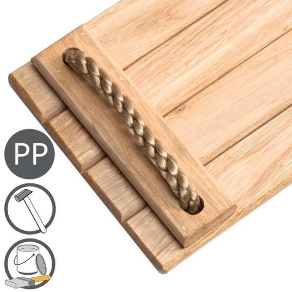 Asiento de madera masgames para columpio - Columpio de madera ...