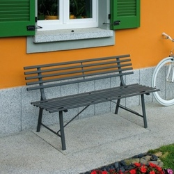 Panchine per arredo giardino - Panchine da esterno in ferro ...