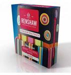Conf. 5 pasta di zucchero Renshaw Regalice da 100 gr l'una colori neon