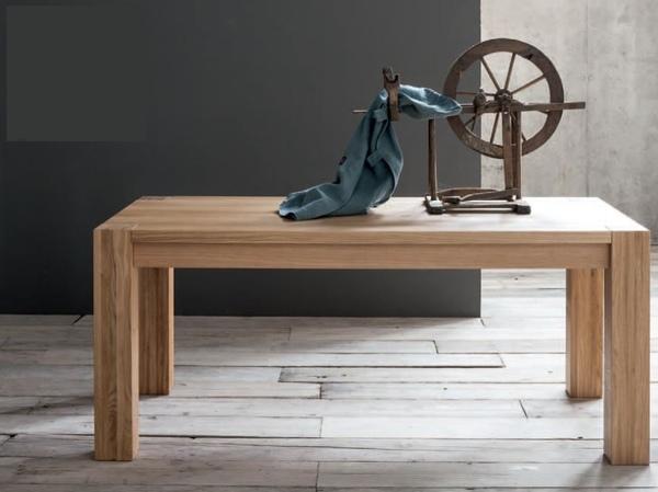 Tavolo da Pranzo Mod. Bio di Sedit Allungabile in Legno Massello Varie ...