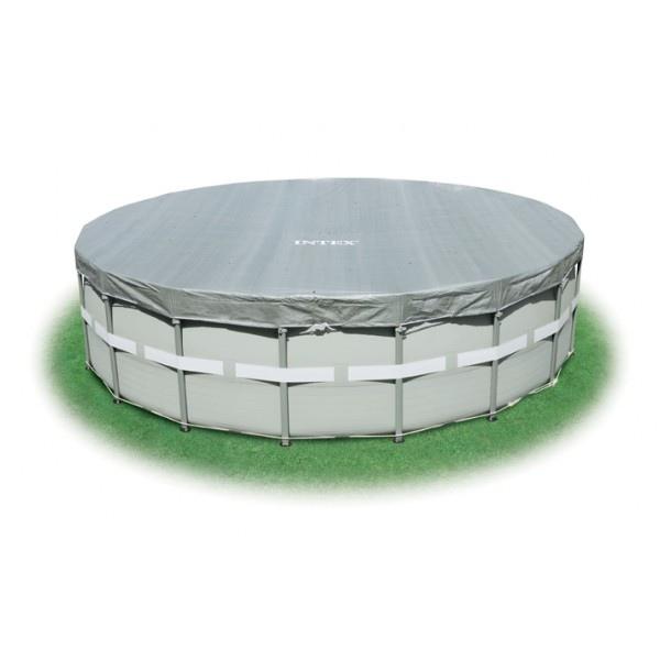 Telo copertura piscina piscine ultra frame rotonda 488 cm - Telo copertura piscina ...
