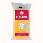 Pasta di zucchero gialla Renshaw  specifica per fiori e modellaggio 250 gr