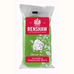 Pasta di zucchero verde Renshaw  specifica per fiori e modellaggio 250 gr