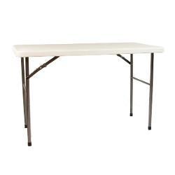 Tavolo pieghevole 122 x 60 x 72 per catering sagre mercatini buffet riunione