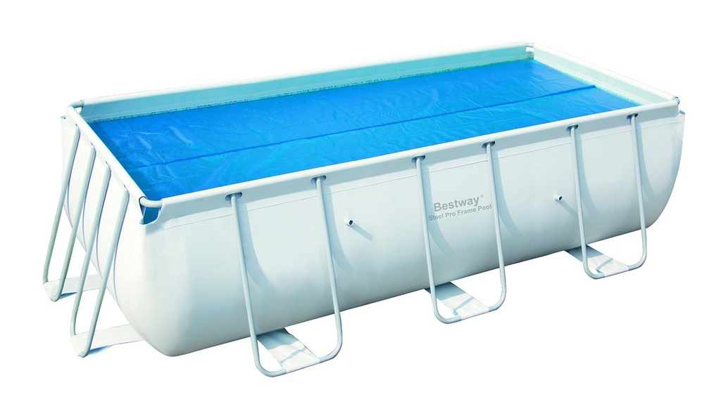 Telo piscina bestway rettangolare terminali antivento for Prezzi piscine intex