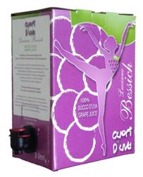 Succo d'Uva BIANCO 3 litri