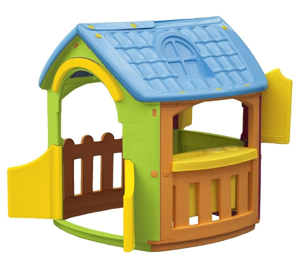 Casetta da giardino casa per bambini chef cp1392 for Casetta in plastica per bambini usata