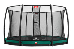 Cama elástica  BERG INGROUND CHAMPION + Red Protectora Deluxe 270, 330, 380 y 430