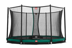 Cama elástica  BERG INGROUND CHAMPION + Red Protectora Comfort 270, 330, 380 y 430