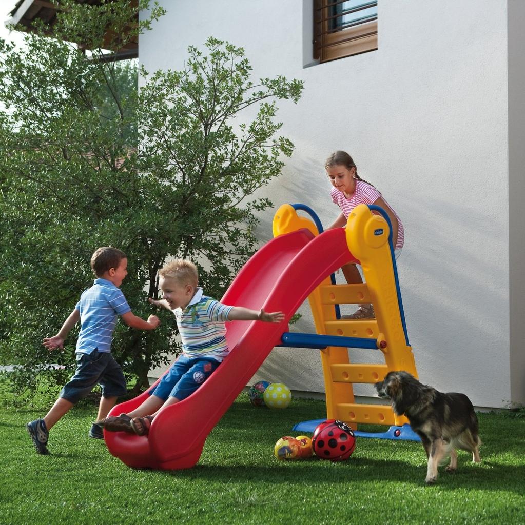 Scivolo In Resina Per Bambini Chicco 30200 Mondo Garden