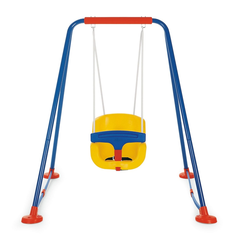 Altalena per bambini con protezione chicco 30300 for Protezione stufa per bambini