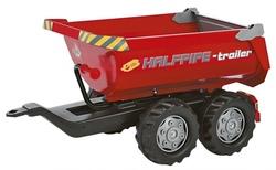 Rolly toys Rimorchio Rolly Halfpipe rosso 122172