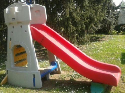 scivolo per bambini da giardino chicco by mondo 30002 scivolo toboga a forma di castello