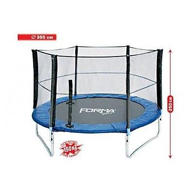 Tappeto elastico da giardino per bambini trampolino - Tappeto esterno ...