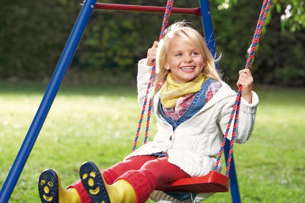 Altalena da giardino per bambini in metallo singola ketter basic 1 - Altalena da giardino per bambini ...