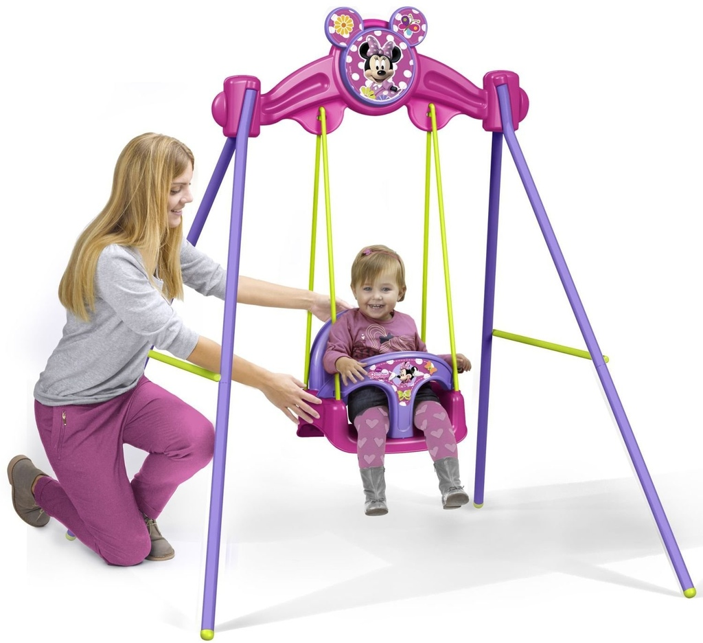 altalena da giardino per bambini baby minnie famosa disney 800008360 altalena baby minnie. Black Bedroom Furniture Sets. Home Design Ideas