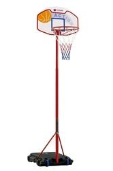 Tabellone Piantana Basket Canestro Pallacanestro BA-21 GARLANDO EL PASO regolabile altezza 160 A 210 H
