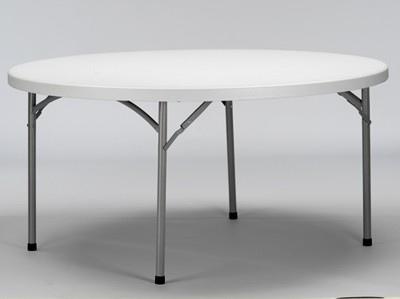 Tavolo rotondo pieghevole per catering diam 180 pieghevole per catering e feste - Tavolo plastica pieghevole ...