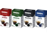 GIMOKA 300 CAPSULE CIALDE CAFFE' A SCELTA COMPATIBILI MACCHINE NESPRESSO