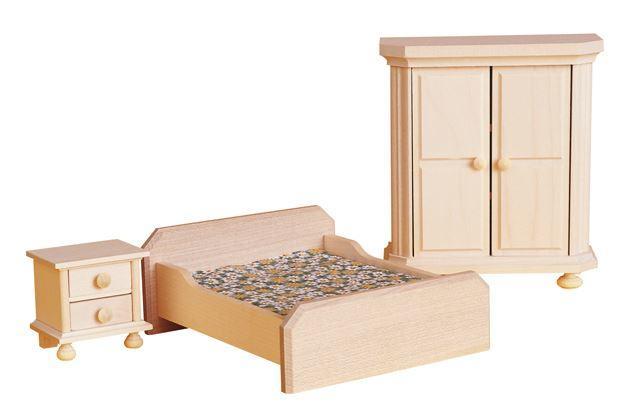 Set di mobili in legno camera da letto rustica per casa - Mobili per la camera ...