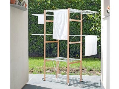 Stendibiancheria Pieghevole PETER PANNI FoppaPedretti Colore Bianco Naturale 9900424103
