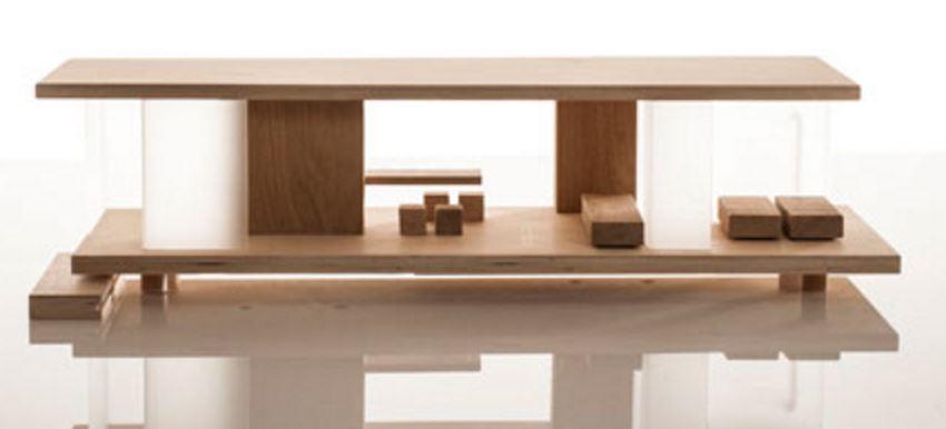 Casa delle bambole in legno per bambini rive gauche - Casa delle bambole in legno ikea ...